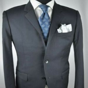 Theory Modern 2Btn Suit 38 L + ZEGNA Tie